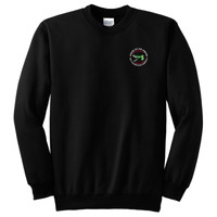 PC90 - Caddo Lodge Logo - EMB - Crewneck Sweatshirt
