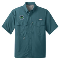 EB602 - Caddo Lodge Logo - EMB - Fishing Shirt