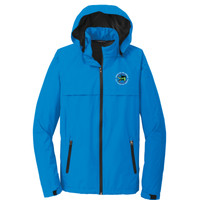 J333 - Caddo Lodge Logo - EMB - Waterproof Jacket