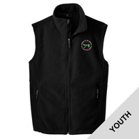 Y219 - Caddo Lodge Logo - EMB - Youth Fleece Vest