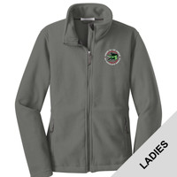 L217 - Caddo Lodge Logo - EMB - Ladies Fleece Jacket