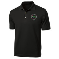 K469 - Caddo Lodge Logo - EMB - Wicking Polo